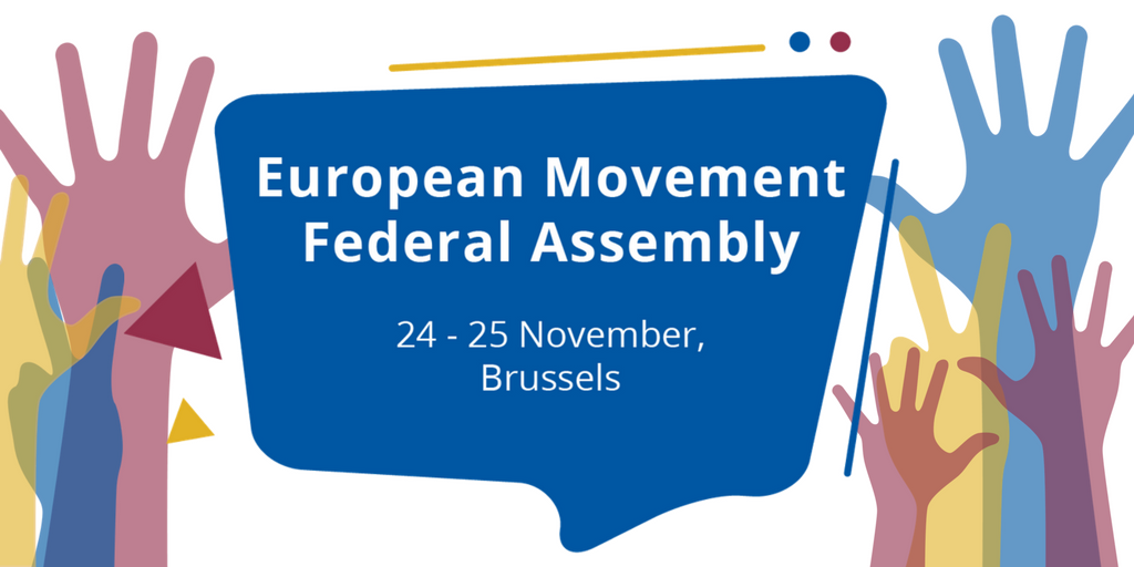 European Movement International Federal Assembly Meeting