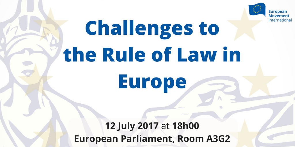 Challenges to the Rule Of Law in Europe
