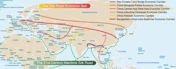 Çin'in Denizden ve Karadan Yürütmek İstediği İpek Yolu Projesi