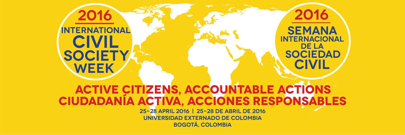 Sivil Toplum Haftası 2016 (Kolombya : Bogota ) Başvuruları Açıldı