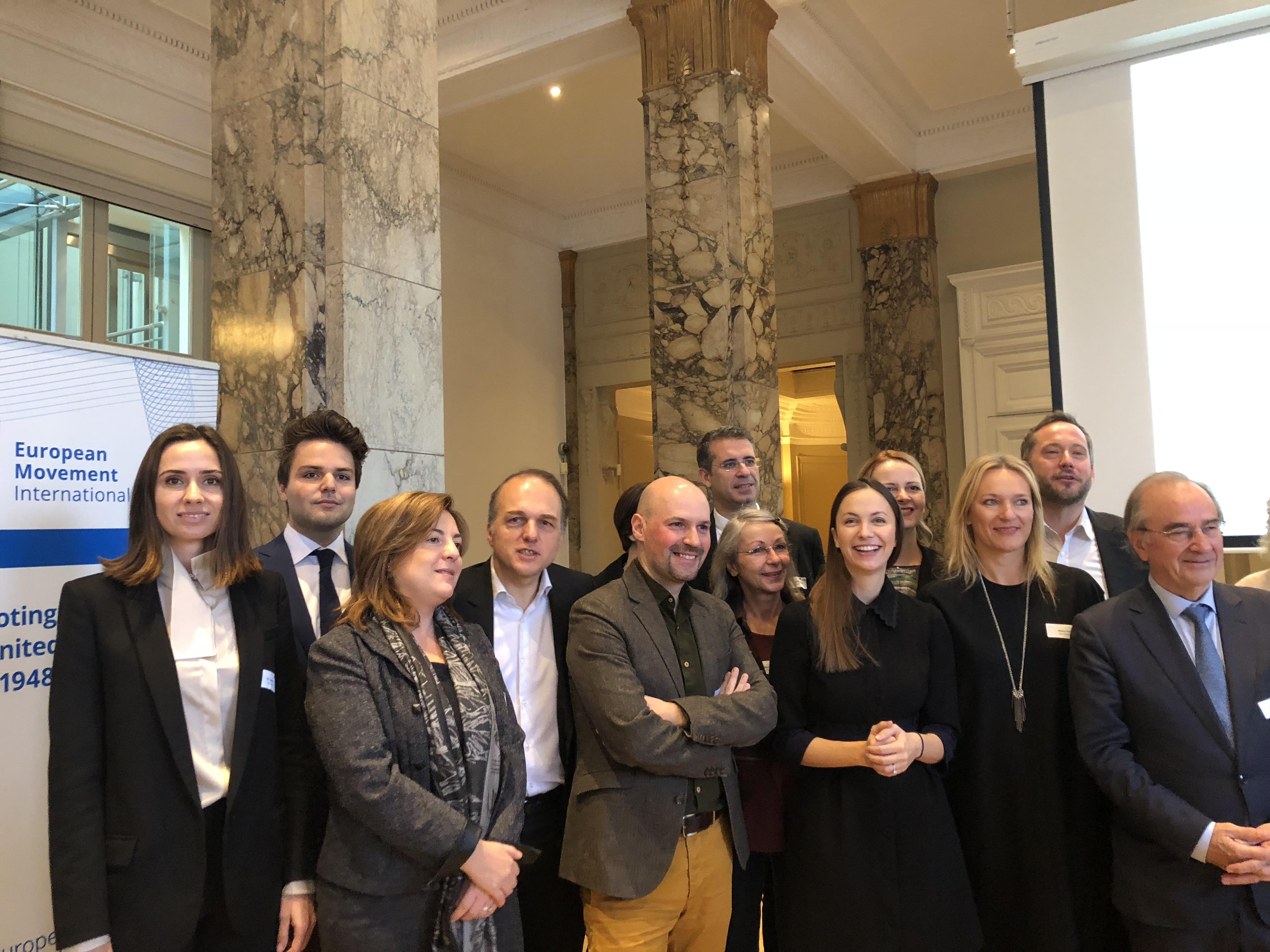 Ela Taşkent üyesi oduğumuz Uluslararası Avrupa Hareketi'nin Board'una seçildi