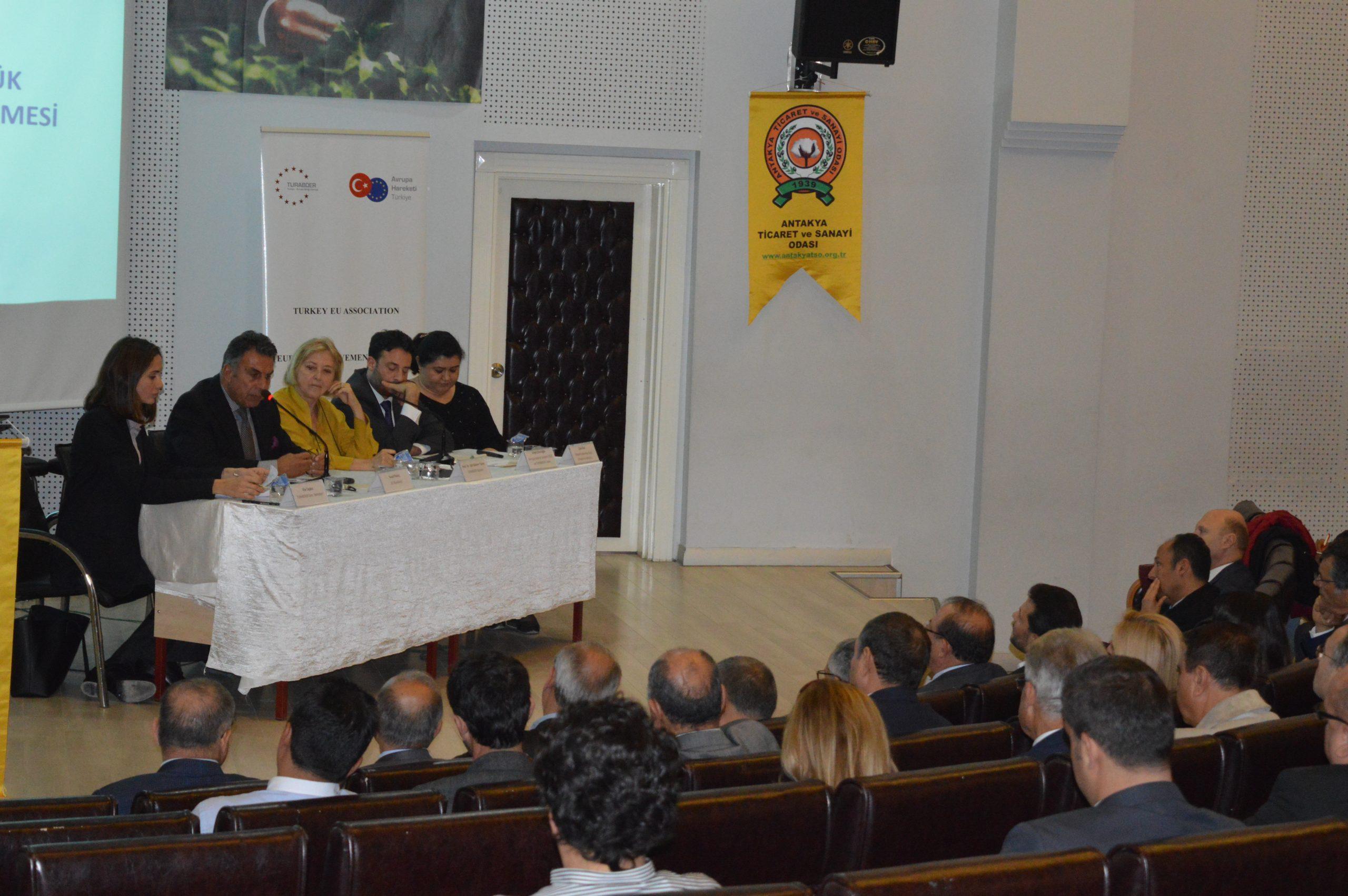 Türkiye Avrupa Birliği Derneği Antakya'da idi